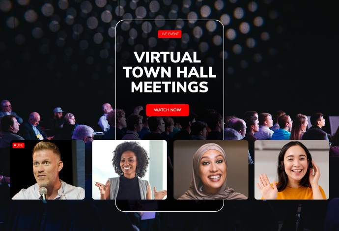 What is a Virtual Town Hall Meeting?