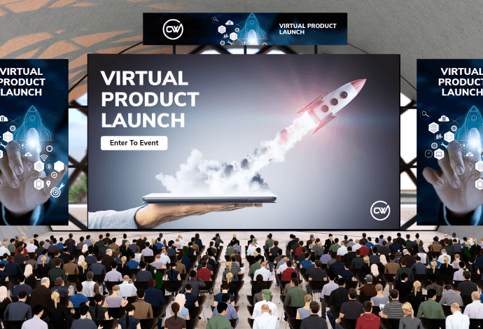 What is a virtual product launch event